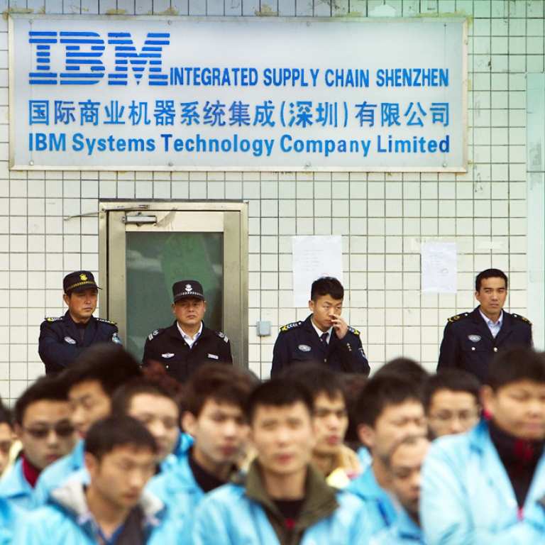 Chinese IBM workers erupt in protests over layoffs, Lenovo deal