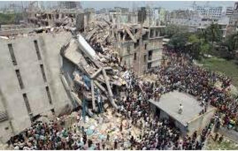 Bangladesh Garment Factory collapse 25 04 2013