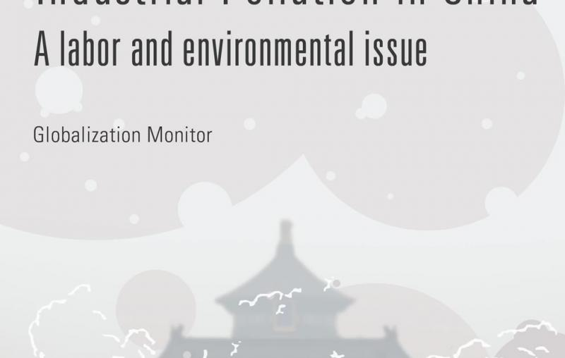 The costs of industrial pollution in China. A labor and environmental issue