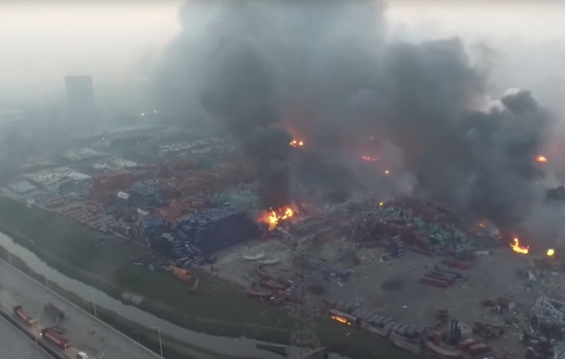An Explosion of Bureaucratic Capital - On the Tianjin Blast